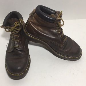 DR MARTENS  Leather 6 Eye Boots
